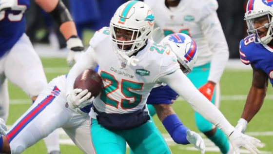 Xavien Howard out of Dolphins practice with ankle injury
