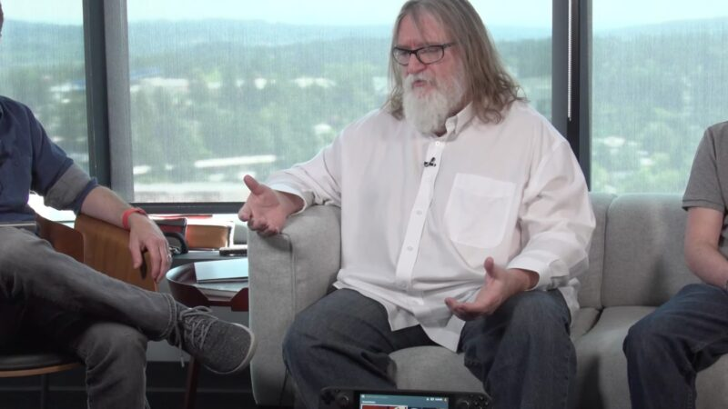 Watch Valve's Gabe Newell explain why the Steam Deck exists